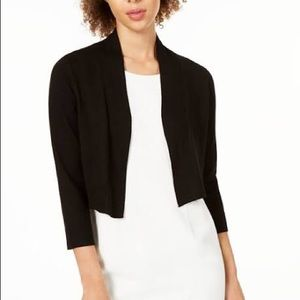 NWT Calvin Klein cropped open front cardigan!